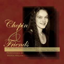 Poster CD Chopin & Friends recital 2003